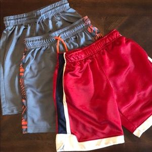 Children's Place Boys bball sports play shorts sz6